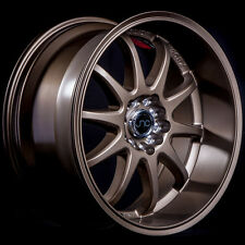 18x9 JNC 019 5x100/5x114.3 20 Matte Bronze Wheel New set(4)