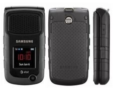 Samsung Rugby 2 II A847 Black (AT&T) GSM SIM Card Cellular Phone No Data Plan