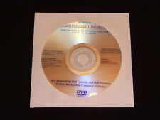 Dell Precision M2300 M4300 M6300 dei driver Vista DVD CD DISC