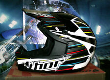 Thor cuadrante frequency Cross casco enduro quad MTB DH XL negro Scott kx-f SX-F