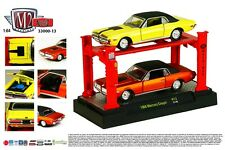 M2 MACHINES 1:64 AUTO-LIFT 2-PACK RELEASE 13 - 1968 MERCURY COUGAR Diecast Car