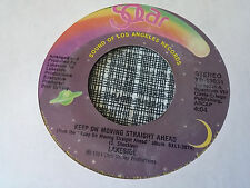 Lakeside 45 Keep on Moving Straight Ahead/Back Together Again Solar Funk NM-
