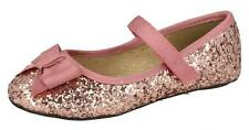 Girls Cutie Glitter Dolly Shoes H2376