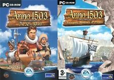 anno 1503 the new world & anno 1503 treasures monsters pirates expansion pack