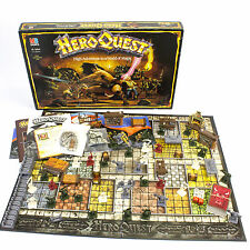 Vintage MB Heroquest Board Game Published by Games Workshop, 1989, Boxed