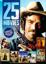 25 Movies: Westerns, Vol. 1 (DVD, 2014, 4-Disc Set) - New Sealed