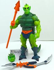 MOTUC, Whiplash, complete, figure, Masters of the Universe Classics He-Man