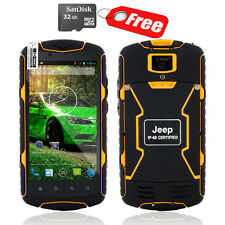 "5"" 32GB 13MP Android 4.4 Unlocked Rugged Waterproof Cell Phone Quad Core JEEP J6"