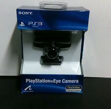 NEW ORIGINAL PS3 OFFICIAL EYE USB CAMERA FOR PLAYSTATION 3 FACTORY SEALED