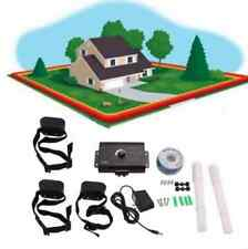 3 dog In-Ground Outdoor Shock Collar Dog Training Pet Electric Fence Underground