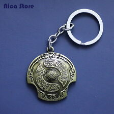 Gadget DOTA 2 Shield Keychain Portachiavi SCUDO simbolo Defense of the Ancients