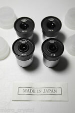 Unitron / Tiyoda Japan P10x KW15x eyepiece lot for microscope 23,2mm barrel