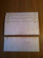 x5 blank 4mm birch plywood door plaques, crafts,