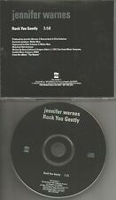 JENNIFER WARNES Rock You Gently RARE 1992 USA PROMO Radio DJ CD Single MINT