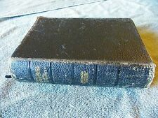 Vintage Holy Bible American Standard Version 1929 leather bound Nelson 1901 ED
