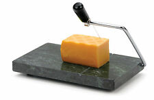 RSVP Green Marble Cheese Slicer Cutter Thick/Thin Sandwich/Cracker W/Spare Wires