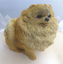 Vintage 1988 Apricot Pomeranian Puppy Dog by Animal Collections CC-153