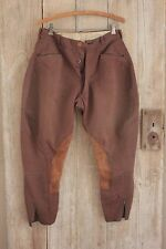 Vintage French pants Riding breeches Equestrian wool 29 W