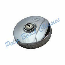 Mercedes OEM Used Chrome Locking Gas Cap with NO KEY