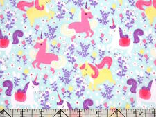 Michael Miller Unicorn Frolic Pony Sea Fabric