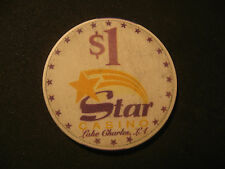 THE STAR CASINO $1 POKER CHIP (LOUISIANA/RIVERBOAT)