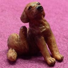 DOLLS HOUSE 1/12 SCALE  SCRATCHING LABRADOR PUP