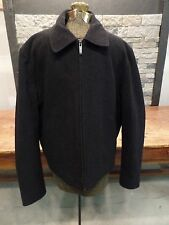 Kenneth Cole Reaction Wool Jacket Coat 100% Wool Full Zip Charcoal Gray Men's M