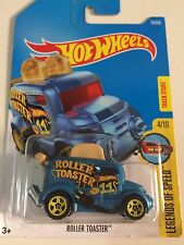 1:64 2017 Hot Wheels | Roller Toaster (Blue)