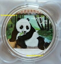 China panda 2015 color-bu-color 1 Oz .999 AG * * un máximo de 5.000 ex. * *