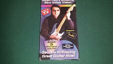 Ralph Paul's Amazing New Guitar Video ! Secrets To Playing Great Guitar Now! VHS