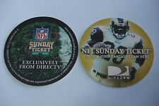 Beer Bar Collectible Coaster ~*~ 2003 DirecTV NFL Sunday Ticket  * Rams Football