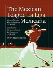 The Mexican League  La Liga Mexicana: Comprehensive Player Statistics, 1937-2001