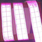 """Pink gloss REFLECTIVE TAPE PVC sew on material 3'x2"""""""