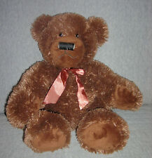Applause plush Dark Brown Bear, Rich Item #68344 Size: Sits 10 Inches