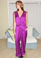 New satin charmeuse occasion jumpsuit by Ralph Lauren plus 18W retail $185 NWT