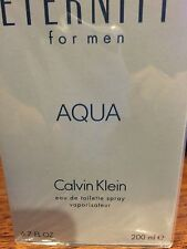 ETERNITY AQUA BY CALVIN KLEIN MEN COLOGNE MEN 6.7 6.8 OZ 200 ML EDT SPRAY NIB