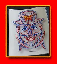*** RAT FINK *** ED BIG DADDY ROTH *** CLEAR WATERSLIDE DECAL ***