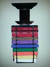 HAND CRAFTED & PAINTED TAEKWONDO, KARATE, AND MARTIAL ART BELT DISPLAY
