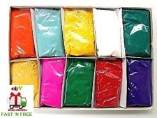 COLORFUL Powder India Holi FUN FEST Festival High 10 Pack Vibrant Body Party NEW