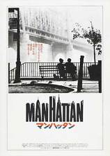 MANHATTAN Movie POSTER 27x40 Japanese Woody Allen Diane Keaton Meryl Streep