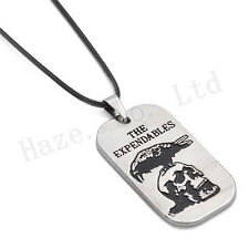The Expandables Tag Eagle Skull Alloy SHD Necklace