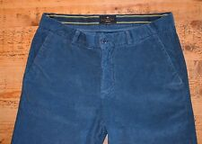 Essentiel Antwerp Blue Corduroy Trousers (Size 32)