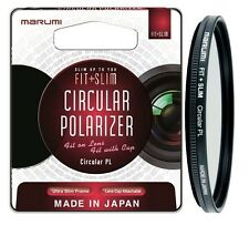 Marumi Fit + Slim Circular Polarising 77mm Multi-Coated Filter - FTS77CIR