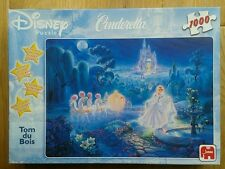 "Walt Disney 1, 000 Piece Jigsaw Puzzle ""Cinderella"" by Tom Du Bois Superb RARE"