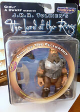 Lord of the Rings Gimli Action Figure NEW Toys Middle Earth Collectibles