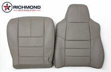 2009 Ford F250 Lariat -Complete Driver Side Replacement Leather Seat Covers Gray