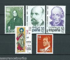 ESPAGNE - 1982 YT 2274 à 2278 - TIMBRES SELLOS NEUFS** LUXE