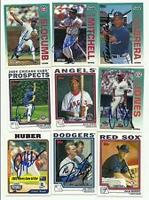 Justin Huber signed 2004 Topps Update #UH205