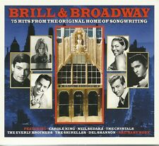 BRILL & BROADWAY - 3 CD BOX SET - CAROLE KING, DEL SHANNON & MORE