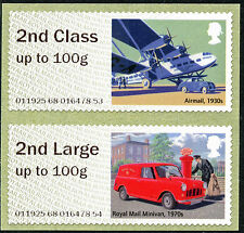 NCR ERROR 2nd + 2nd LARGE COLL SET MAIL HERITAGE ERRORS TRANSPORT POST & GO
